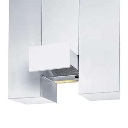 Image de Hotte d'aspiration EVM Studio modèle air tournante blanc, largeur 27.5 cm.