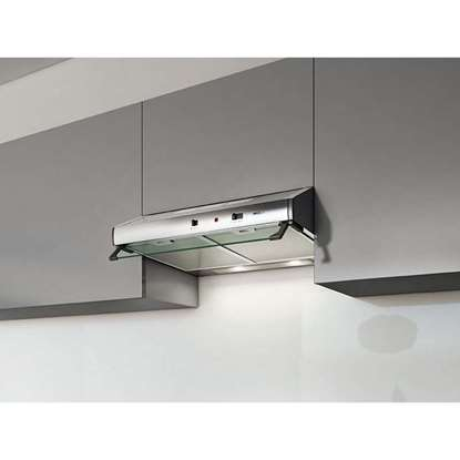 Image de Hotte d'aspiration Risch 55 inox. Air tournante est possible.