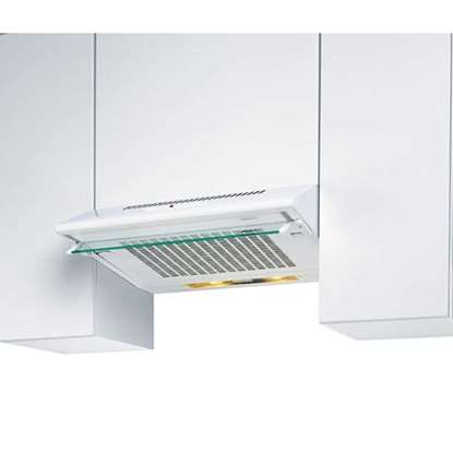 Image de Hotte d'aspiration EVM-14 blanc largeur 90 cm. Air tournante est possible.