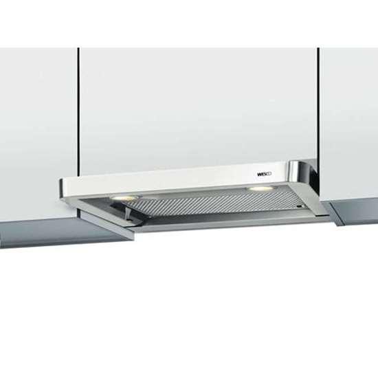 Küchen Abzugshaube EVM 207 60 Breite 60cm Edelstahl mit