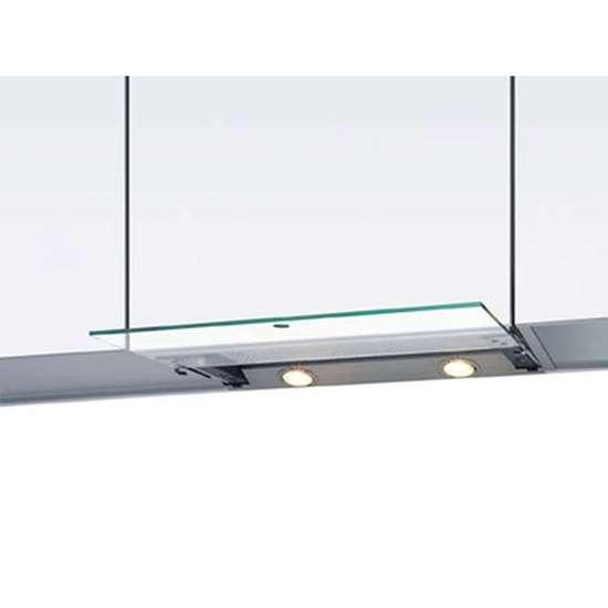 Küchen Abzugshaube EVM 211 90 Breite 90cm Edelstahl mit