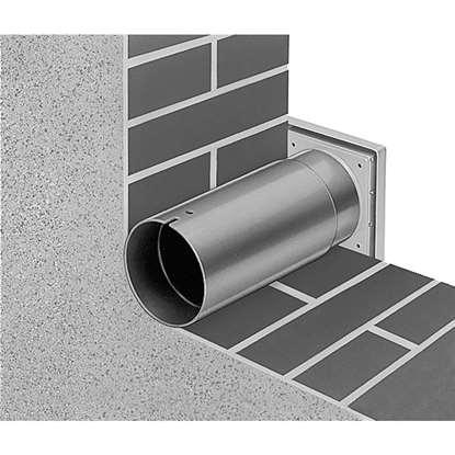 Immagine di Set per montaggio murale WES 90 per ventilatore da bagno/WC HR 90 / M1. (Helios)
