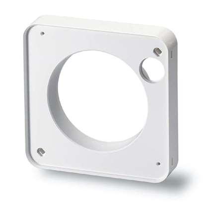 Bild von Montageflansch MF 90 zu Bad/WC-Ventilator HR 90 K (Helios)