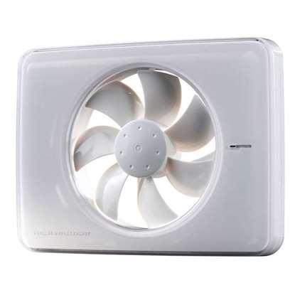 Image de Intellivent Celsius ventilateur blanc avec contrôle de la température.