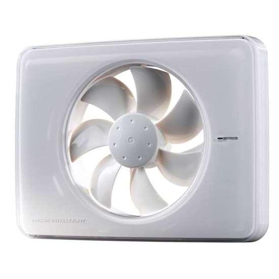 Bild von Intellivent Celsius Ventilator Weiss mit Thermostat und Drehzahlregelung