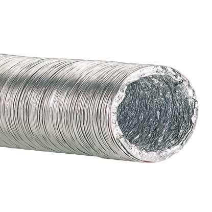 Immagine di Tubo flessibile d'alluminio AFD 250-10 Lunghezza 10m. (-20°C + 140°C)