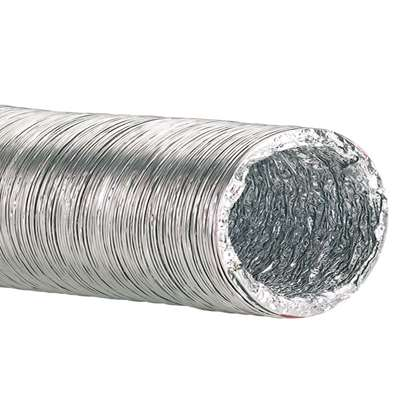 Immagine di Tubo flessibile d'alluminio AFD 350-10 Lunghezza 10m. (-20°C + 140°C)