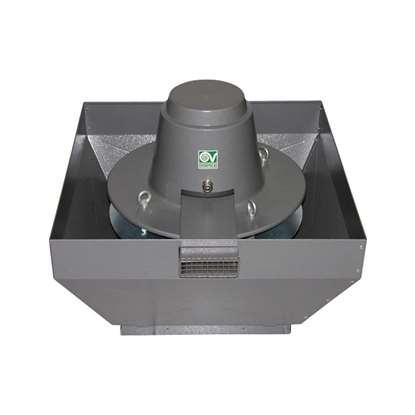 Image de Ventilateur feu de gaze de toiture, TRT 100ED-V 4P 400V. Température 90°C, 400°C/2h. (V)
