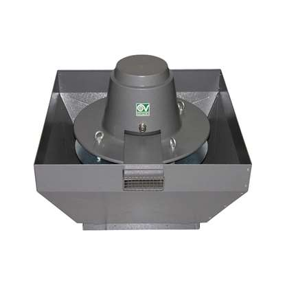 Image de Ventilateur feu de gaze de toiture, TRT 100ED-V 6P 400V. Température 90°C, 400°C/2h. (V)