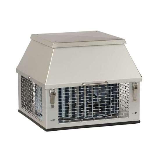 Ventilateur De Cheminée Chapeau Hf4 6 Carré 400v Risch