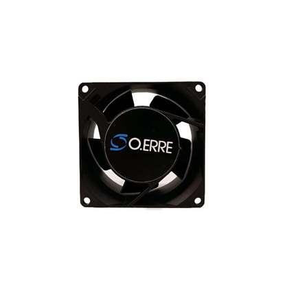 Immagine di Piccolo ventilatore assiale RQ 50 AC, 110V per ventilazione d'armadio dei comandi. (O. Erre)
