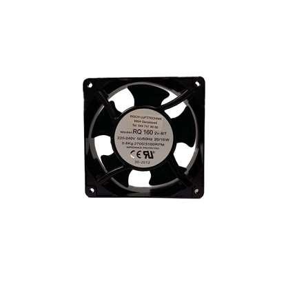 Image de Petit ventilateurs axiaux RQ 160 AC, 110V pour ventilation d'armoire électrique. (O. Erre)