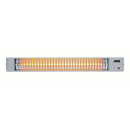 Image de Radiateur de chaleur Quartz AKO BS 51/1, 230V1~ 1200 Watt.