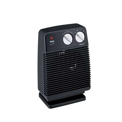 Image de Radiateur soufflant Hobby, noir, 230V/50Hz. Puissance de chauffage 1000/2000 Watt.