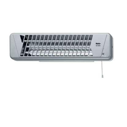 Immagine di Infrarosso QS 1800, argento/bianco. Potenza di riscaldamento: 600/1200/1800 Watt.