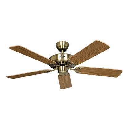 Bild von Deckenventilator Royal Messing antik Ø 103cm.