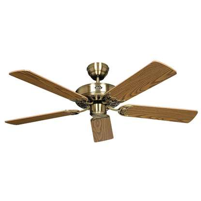 Bild von Deckenventilator Royal Messing antik Ø 132cm.