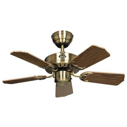 Bild von Deckenventilator Royal Messing antik Ø 75cm.