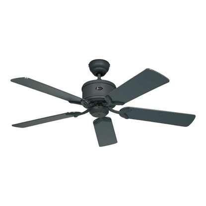 Image de Ventilateur de plafond Eco Elements 132 GR, graphite Ø 132 cm. Hélices graphite/noir avec télécommande