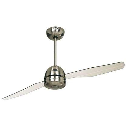 Image de Ventilateur de plafond Libelle BN, chrome brossé Ø 132cm.