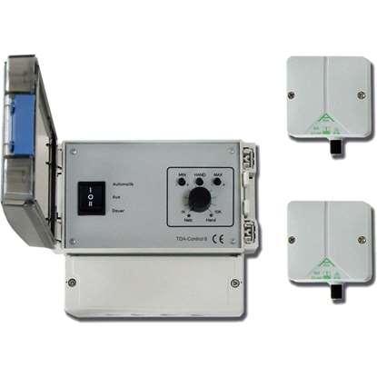 Bild von TDA-Control 1.5T mit zwei Fühlern. Bis zu 4 Deckenventilatoren.