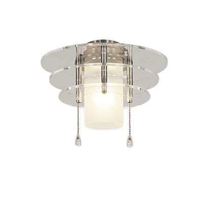 Immagine di Lampada Royal 6 vetro acrilico cromo spazzolato per Eco Elements.