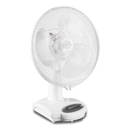 Image de Ventilateur de table Greyhound TV 30 Ø cm blanc
