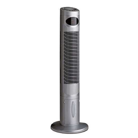 turmventilator airos cool mit luftbefeuchtung lack silber satin 1135mm mit fernbedienung. Black Bedroom Furniture Sets. Home Design Ideas