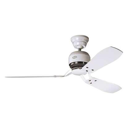 Immagine di Ventilatore da soffitto Hunter Industrie bianco Ø 132cm.