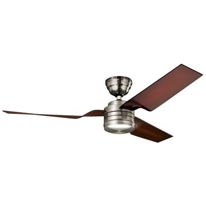 Image de Ventilateur de plafond Hunter Flight nickel brossé Ø 132cm.