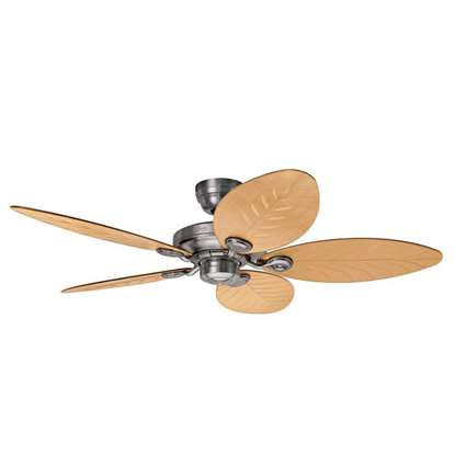 Image de Ventilateur de plafond Hunter Outdoor Elements II aluminium Ø137cm.