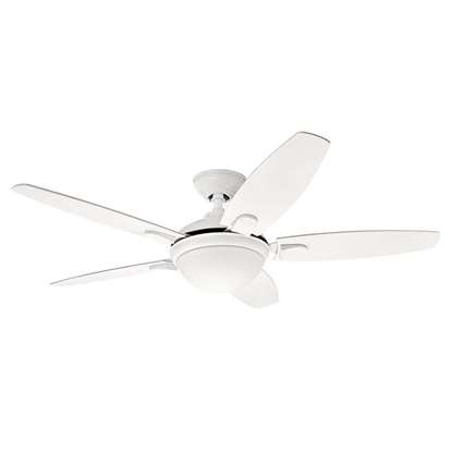 Immagine di Ventilatore da soffitto Hunter Contempo bianco  Ø 132cm.