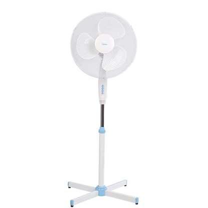 Image de Ventilateur sur colonne VP440 blanche/bleu Ø 37cm