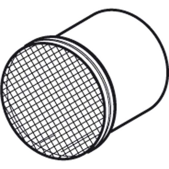 Immagine di Abschlussrohr für  NRG ABC 800, mit Insekten- schutzgitter.