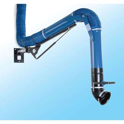 Bild von Rauchabsauger Absaugarm RX2000 Blau für alle Arbeitsplätze mit guter Funktion und sehr