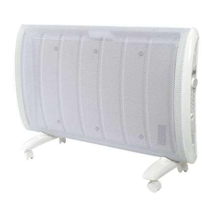 Immagine di Pannello radiante WW 151 E, 1500 Watt con termostato elettronico, installazione libera, su ruote oppure montaggio a parete.