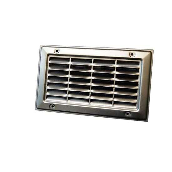grille de ventilation dg 13 250x550mm en t le d 39 acier galvanis pour visser risch lufttechnik ag. Black Bedroom Furniture Sets. Home Design Ideas