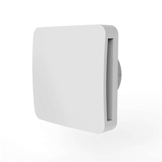Bild von Bad/WC Ventilator ALBA 100 T (O. Erre) mit Rückschlagklappe und Nachlauf.