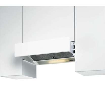 Image de Hotte d'aspiration EVM-212 blanc largeur 55 cm. Air tournante pas possible.