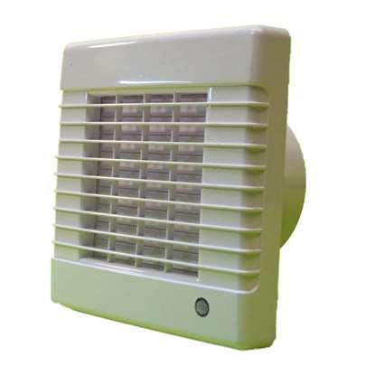 Image de Ventilateur pour salle de bain/WC VA 100 X avec fermeture aut. sans temporisateur. Roul. à billes.