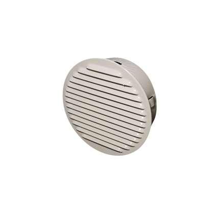 Bild von Ventilationsgitter SG 200 Weiss steckbares Aussengitter mit Insektenschutzgitter.