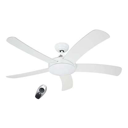 Image de Ventilateur de plafond Falcetto 132 WE blanc Ø 132 cm. Hélices blanc avec télécommande