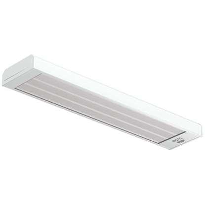 Image de Radiateur de chauffage Elztrip EZ115N, 1500 W, 230V/50Hz. Panneaux simples pour des hauteurs entre 2,5 et 4 mètres. Convient pour: bureaux, magasins, etc.