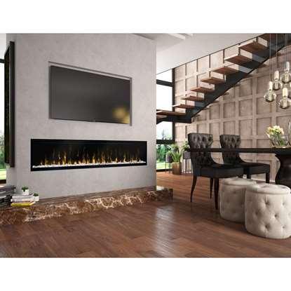 Bild von Elektrischer Kamin Ignite XL 74 mit Flammeneffekt (Optiflame)