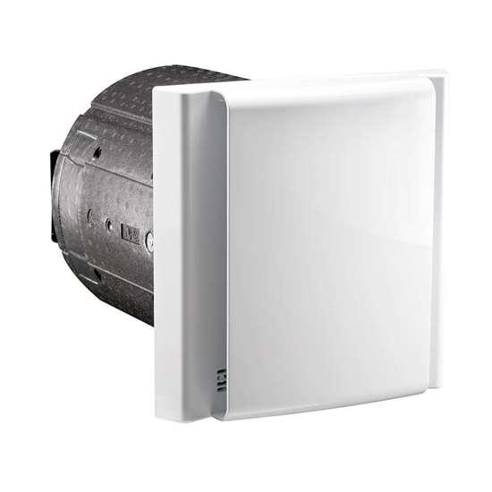 Immagine di Unità di ventilazione DL50 WA 2 con pannello a parete interna unità di controllo al pannello a parete interna. Ricevitore En-Ocean integrato di serie, per il collegamento del radiocomando opzionale.