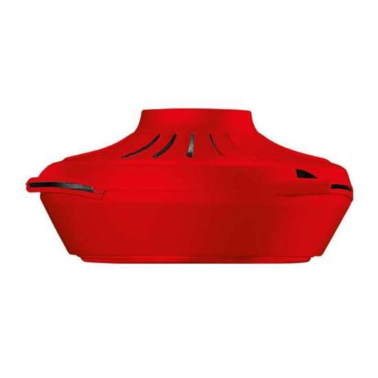 Image sur Ventilateur de plafond Nordik AIR Design, seulement le moteur en rouge. Hélices et système de suspension à commander séparément. (Vortice)