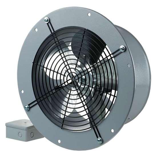 Immagine di Ventilatore assiale Axis-QRA 250. esecuzione rotonda, 230V/Hz.