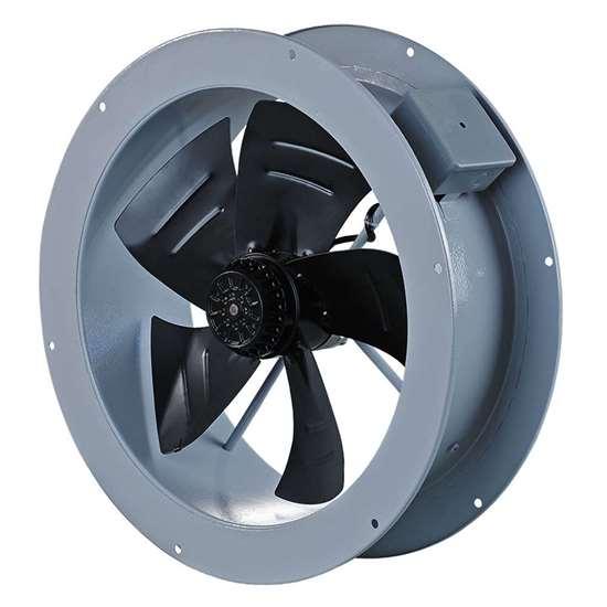 Immagine di Ventilatore assiale Axis-F 630 4E. esecuzione rotonda, 230V/Hz.