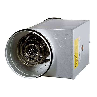 Bild von Elektroheizregister für Rohreinbau CB 100-0.4 230V/1, 0.4 kW. Ø 100 mm.