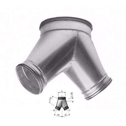 Image de Y-tube 30° VY30, D=315 mm